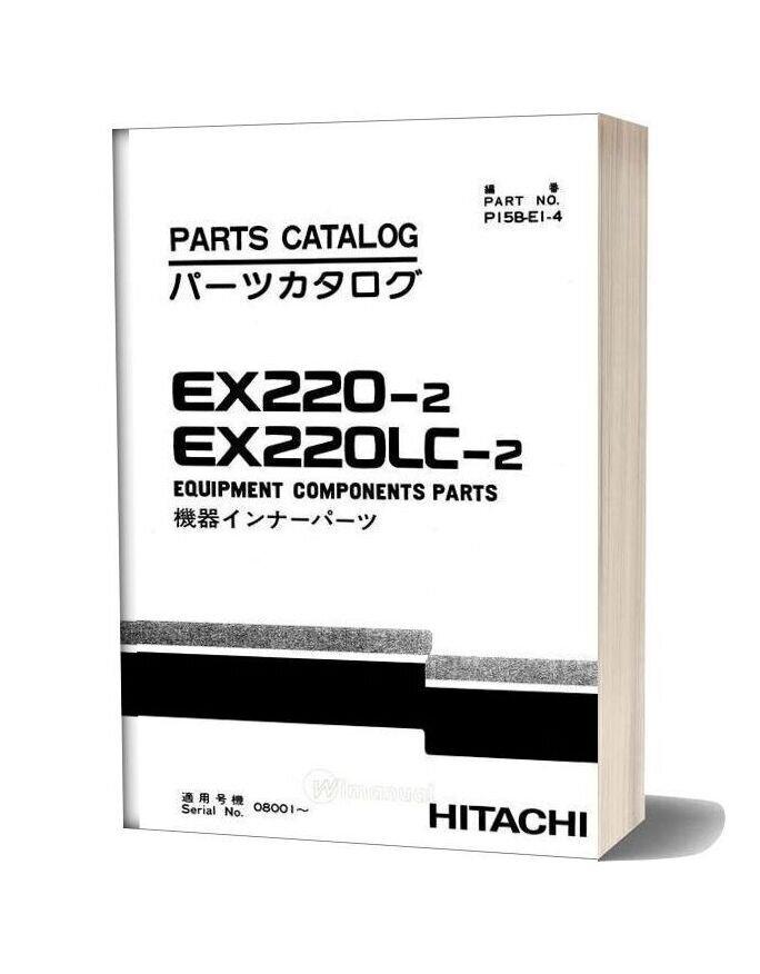 Hitachi Ex220 200lc 2 Equipment Components Parts
