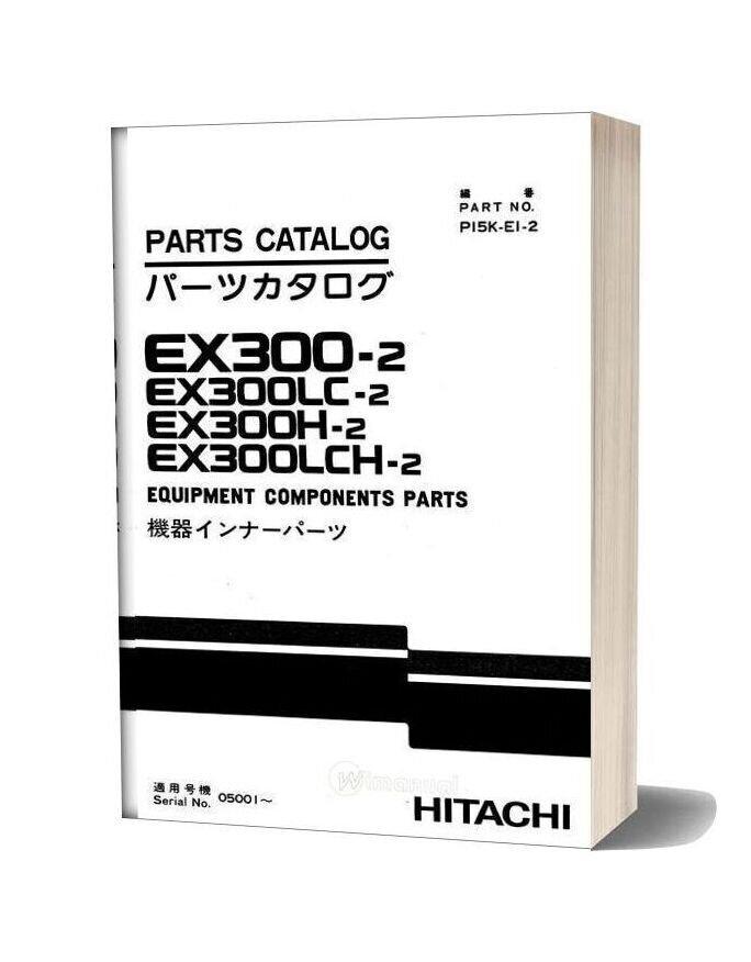 Hitachi Ex300 2 Lc H Lch Equipment Components Parts