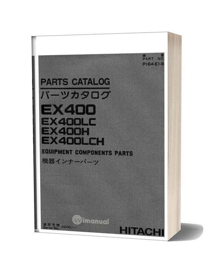 Hitachi Ex400 Equipment Components Parts