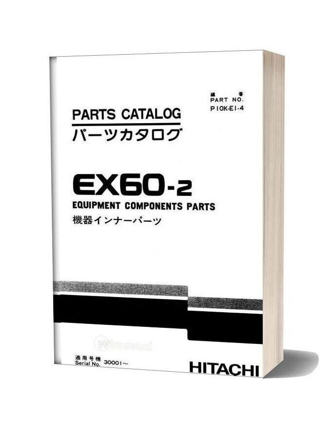 Hitachi Ex60 2 Equipment Components Parts
