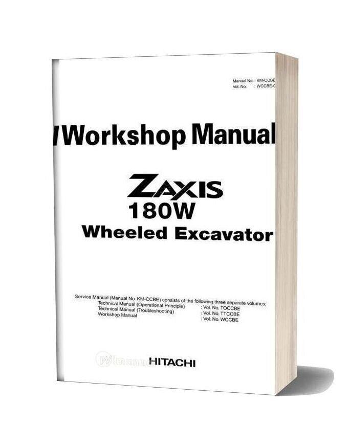 Hitachi Zaxis 180w Workshop Manual