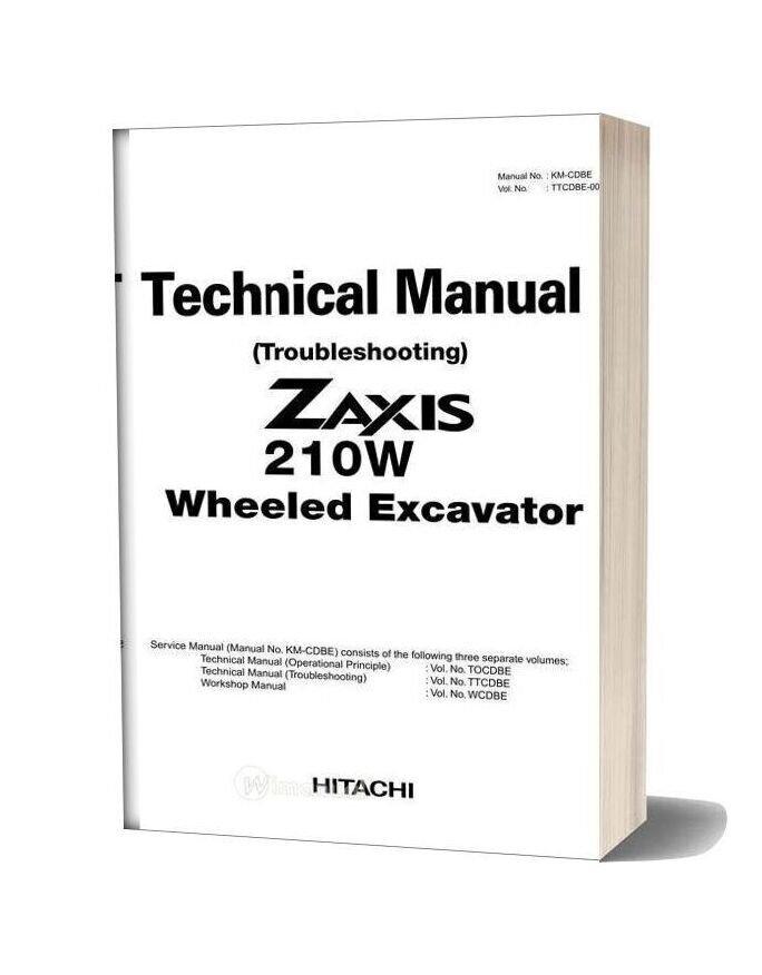 Hitachi Zaxis 210w Technical Manual