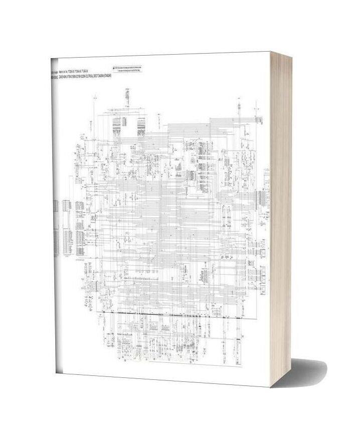Hitachi Zx140w 170w 190w 210w 220w 3 Electrical Circuit Diagram