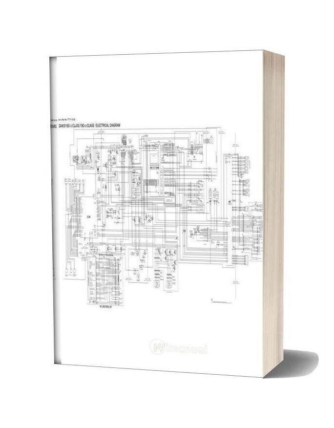 Hitachi Zx160 180 3 Class Electrical Diagram