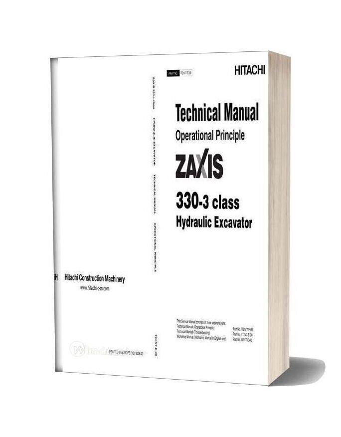 Hitachi Zx330 3 Technical Man Opera