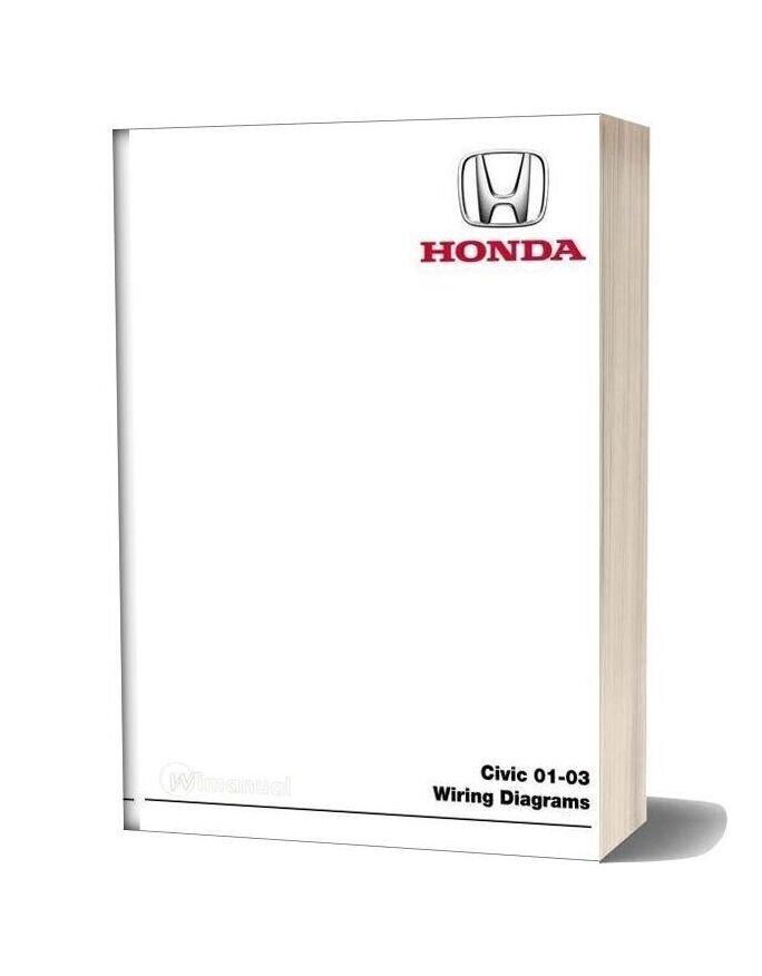 Honda Civic 2001 2003 Wiring Diagram