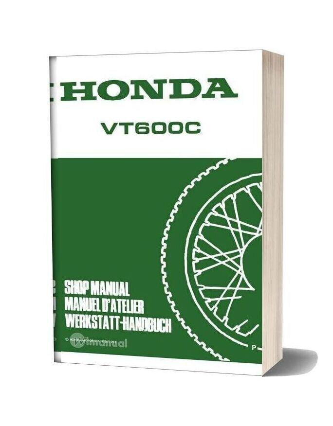 Honda Vt600c Shop Manual