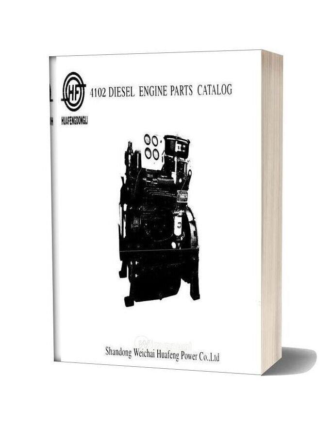 Huafengdongli 4102series Engine Parts Catalog Drucker