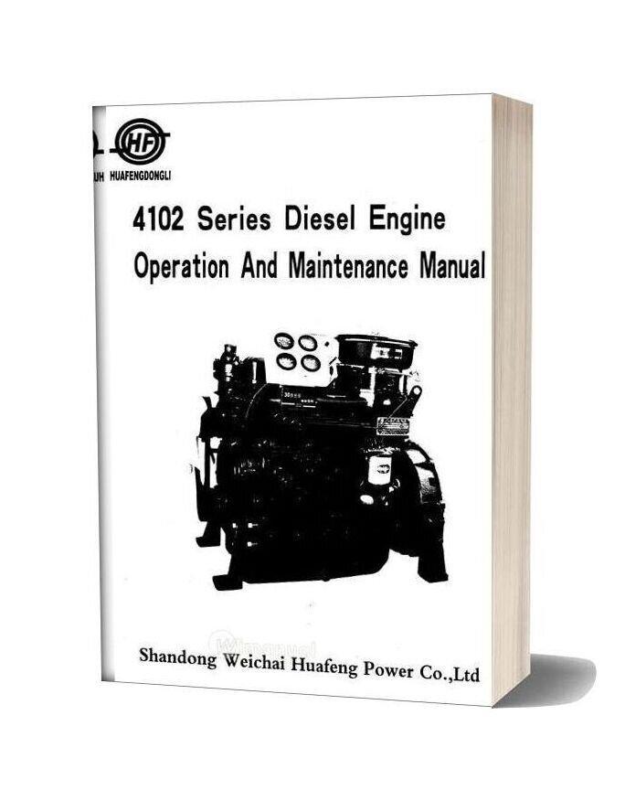 Huafengdongli 4102series Operation And Maintanance Drucker