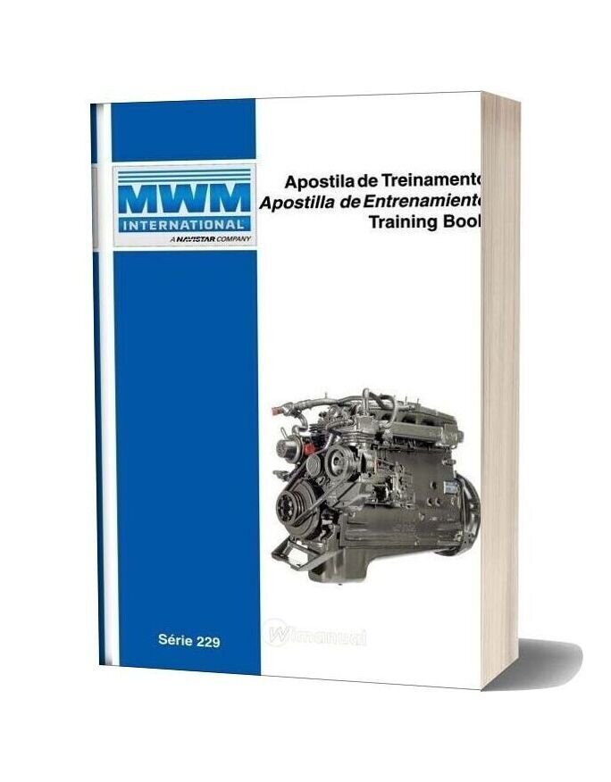 International Mwm Series 229 Training Book