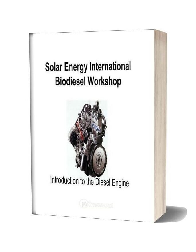International Solar Energy Biodiesel Workshop Manual