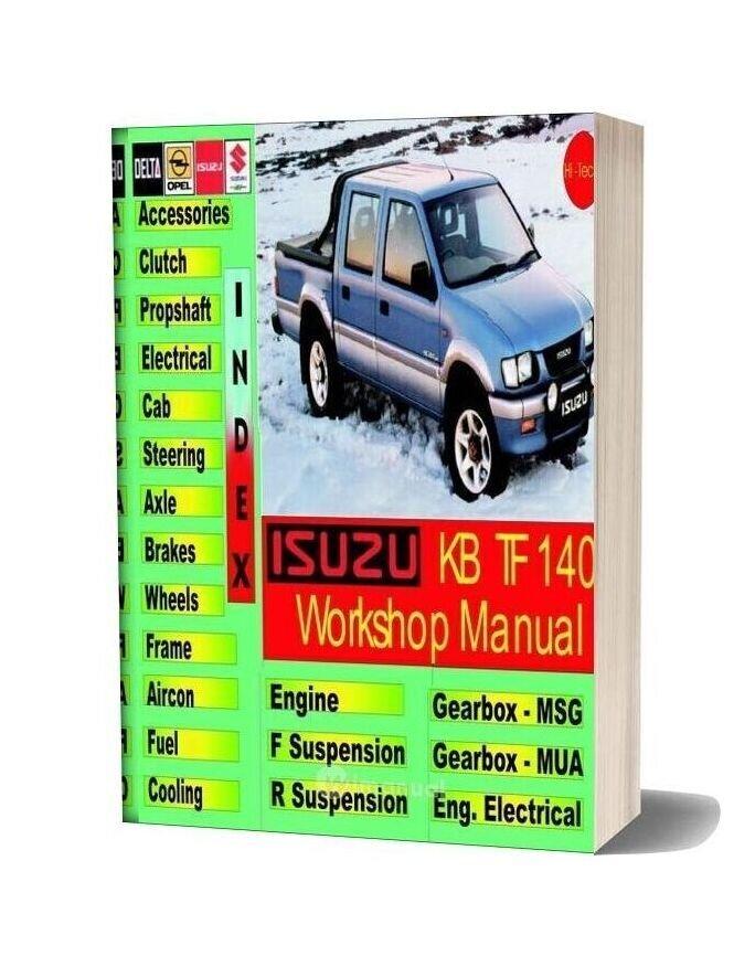 Isuzu 1993 1996 Kb Tf140 Workshop Manual