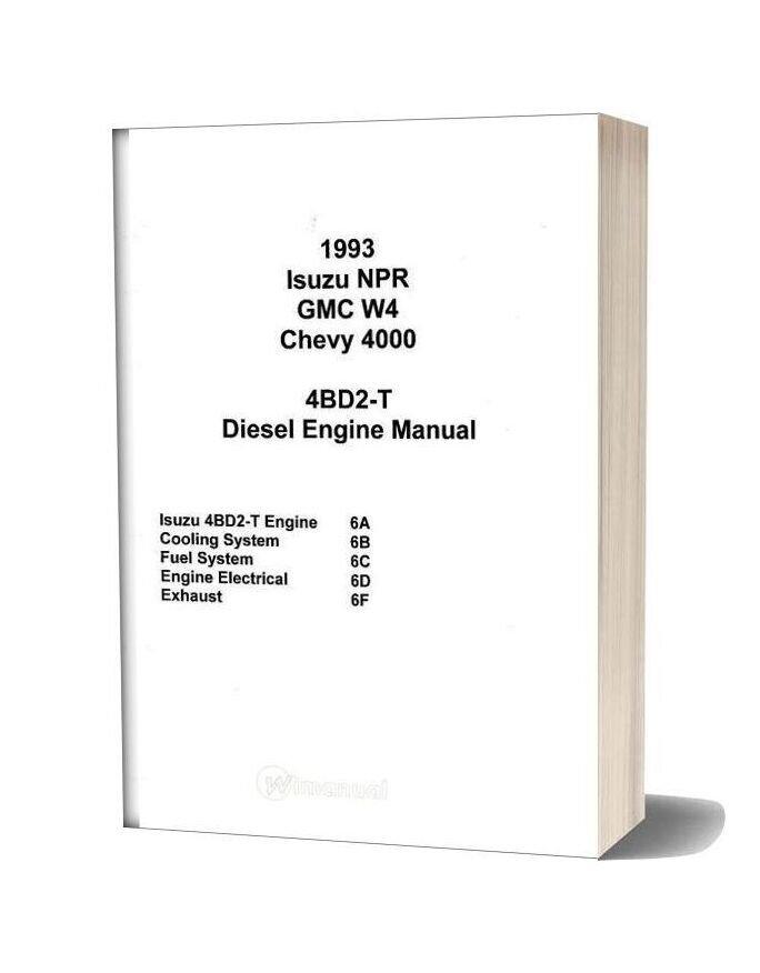 Isuzu 4bd2 T Diesel Engine Manual