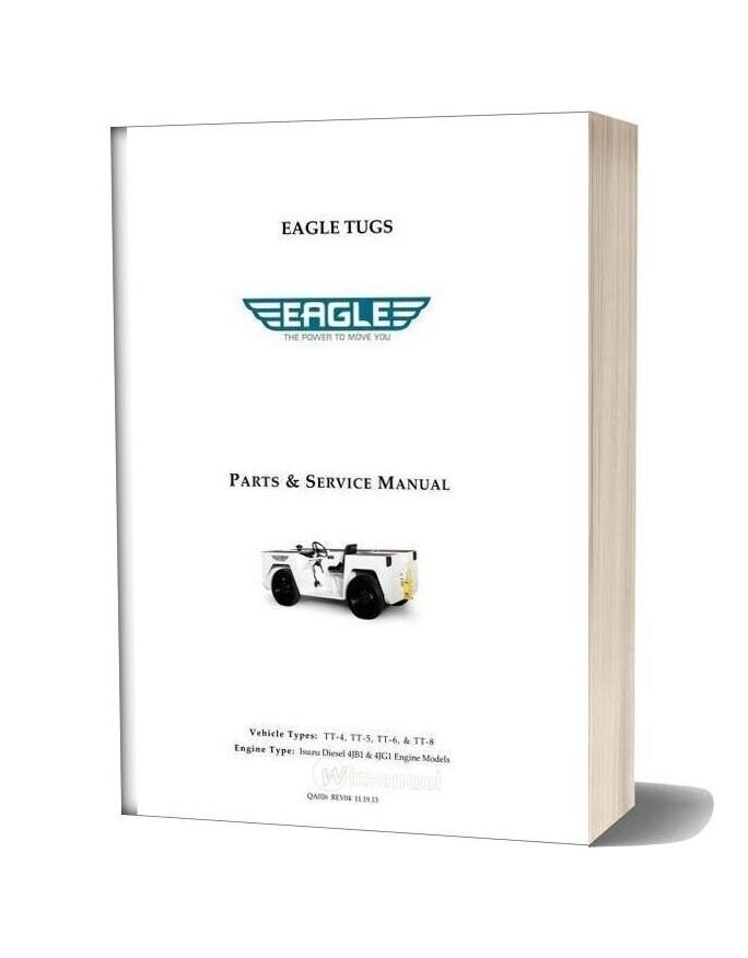 Isuzu 4jb1 And 4jg1 Diesel Parts Service Manual Tt4 8