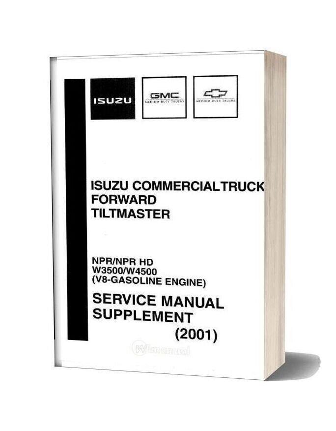 Isuzu Commerical Truck Npr 2001 Workshop Manual-15i16873