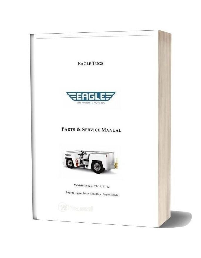 Isuzu Diesel 4jg1t Parts Service Manual Tt10 12