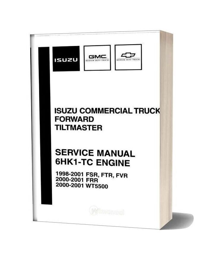 Isuzu Service Manual 6hk1 Tc Engine