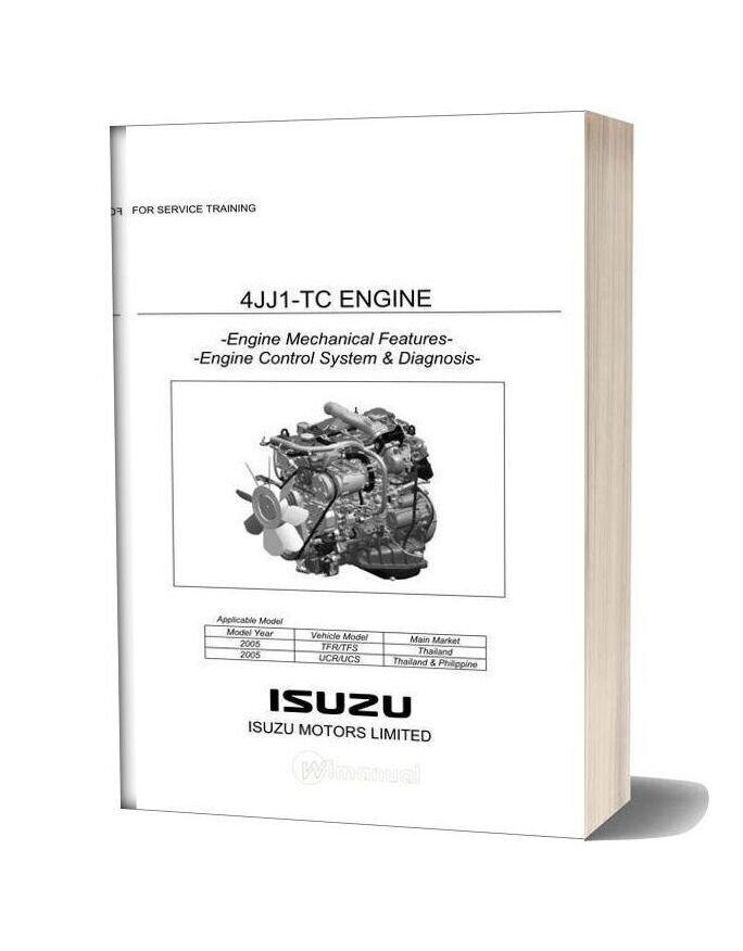 Isuzu Service Training 4jj1 Tc Engine