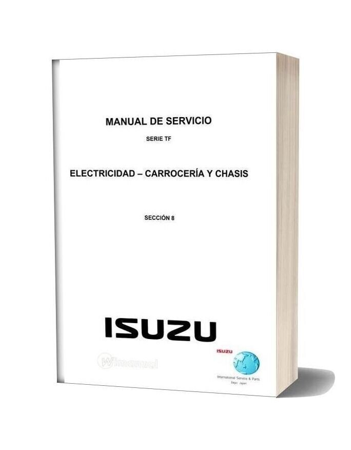 Isuzu Tf Series Service Manual Section 8