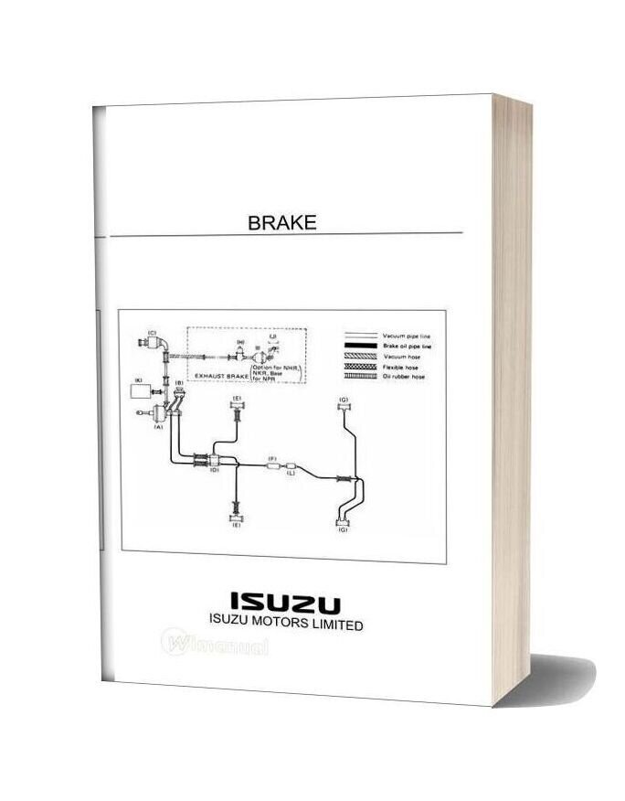 Isuzu Truck Training Brake System-15i16510