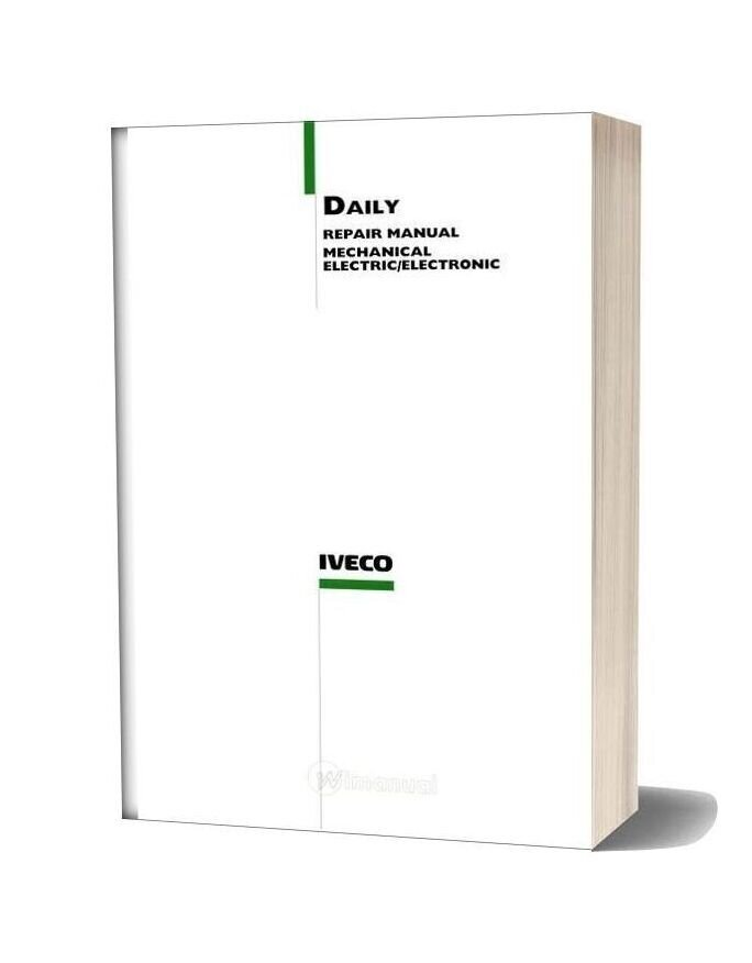 Iveco Daily 2000my Repair Manual