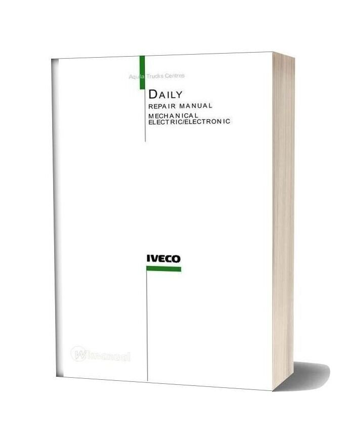 Iveco Daily 2006my Repair Manual