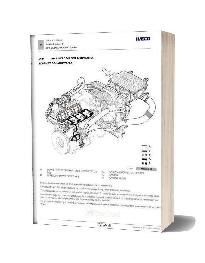 Iveco Daily Model Year 2012 Service Manual