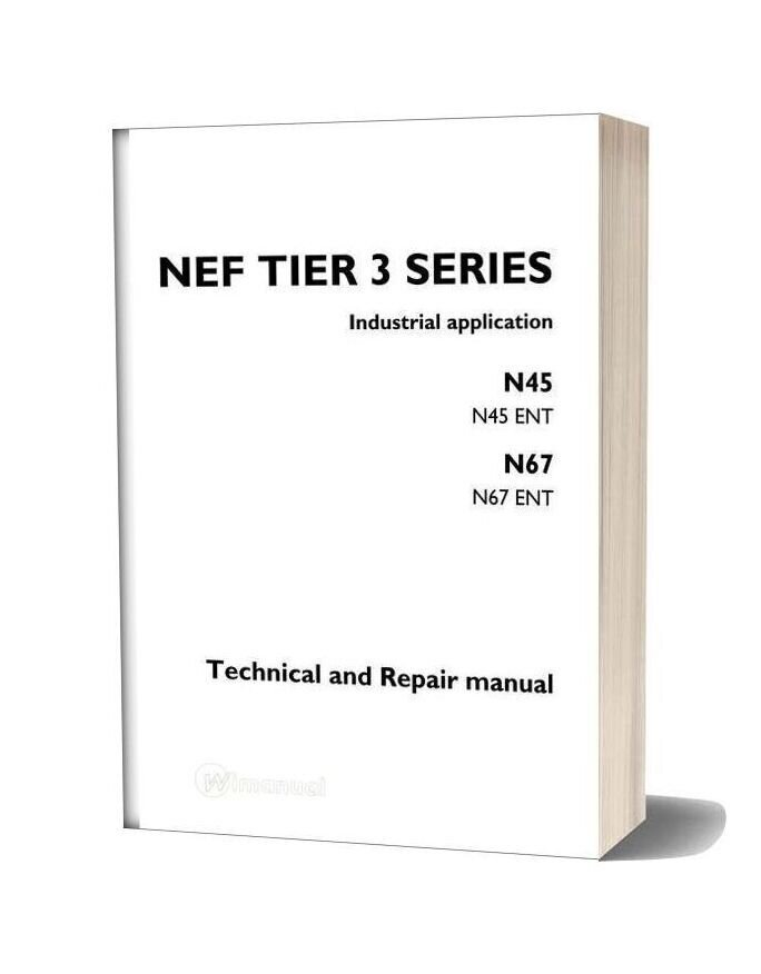 Iveco Nef Tier 3 Series Technical And Repair Manual