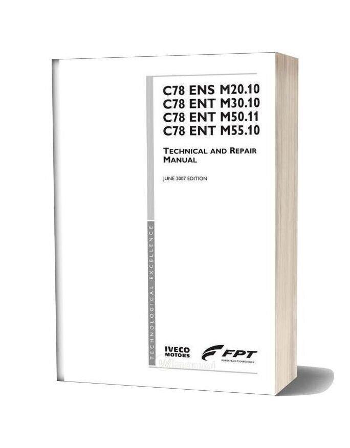 Iveco Repair Manual C078ensm20 C078entm30 50 55 P3d32c001e