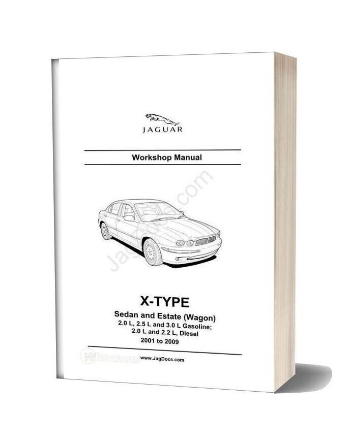 Jaguar Workshop Manual X Type 2001 2009