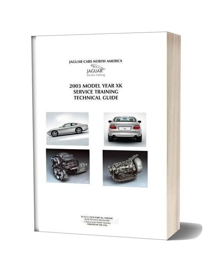 Jaguar Xk 2003 Service Training Guide