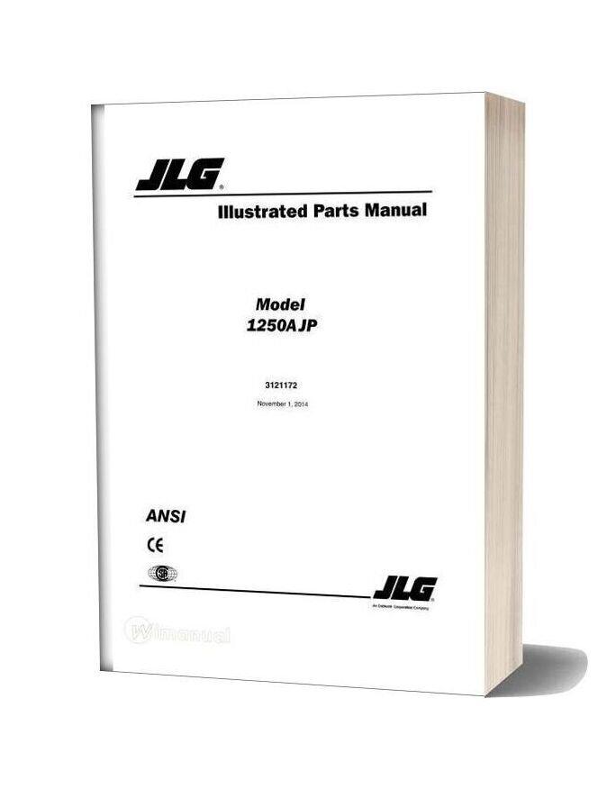 Jlg 1250ajp Boom Lift Illustrated Parts Manual