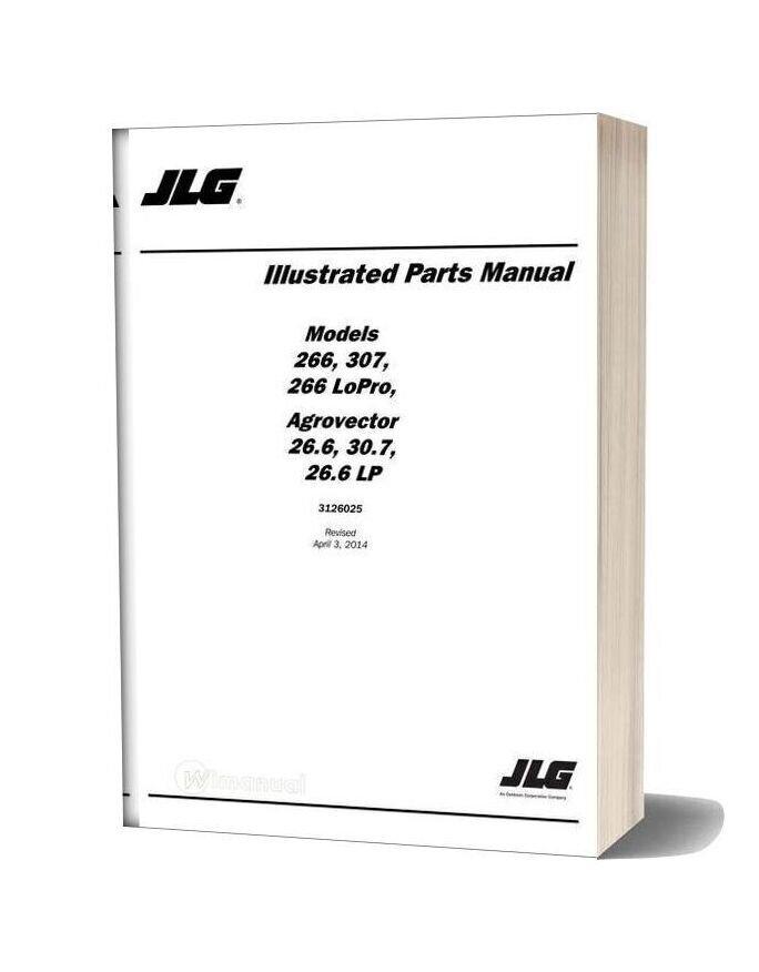 Jlg 266 Lopro Telehandler Parts Manual