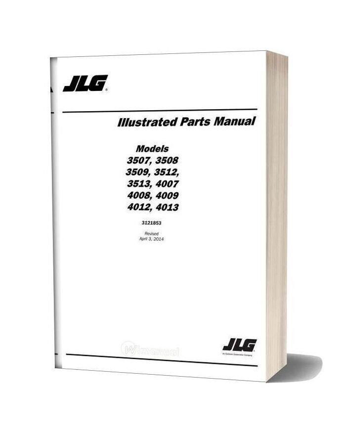 Jlg 3507 Telehandler Parts Manual