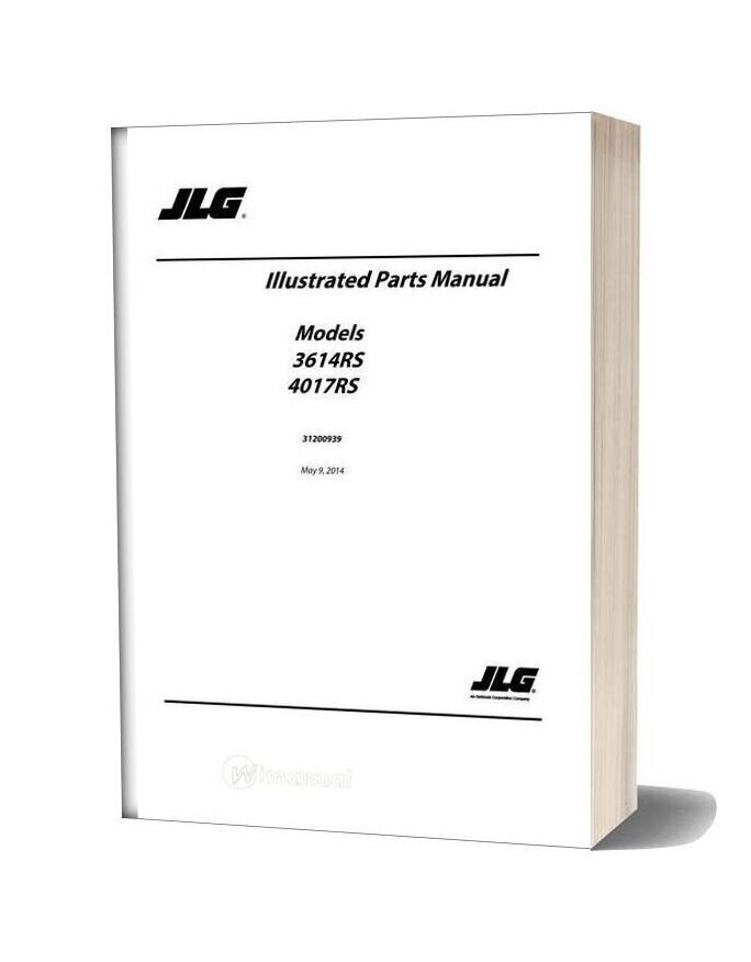 Jlg 3614rs 4017rs Telehandler Parts Manual