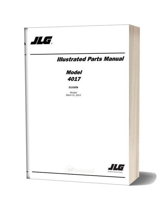 Jlg 4017 Telehandler Parts Manual