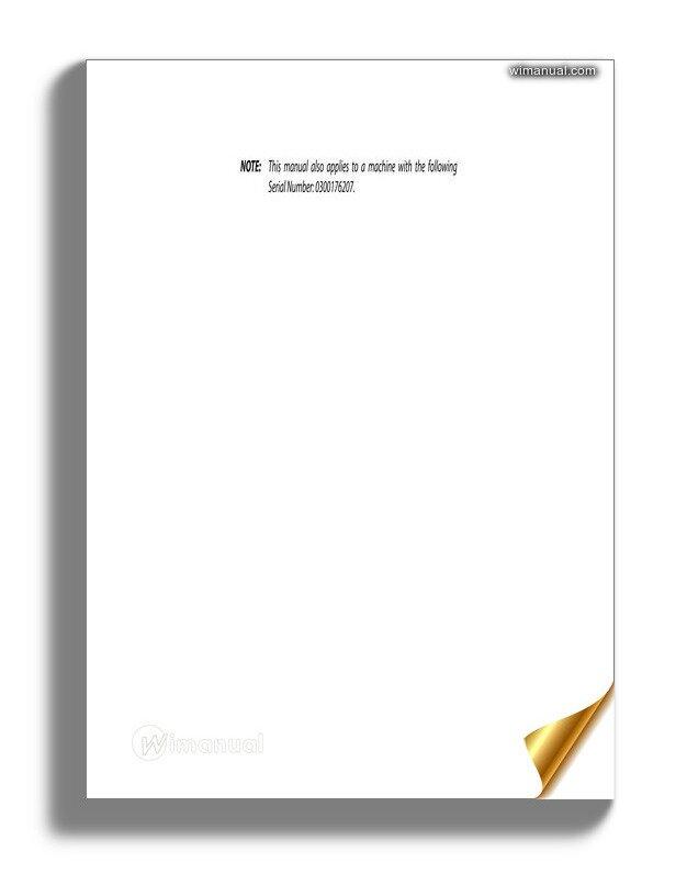 Jlg 600a  U0026 600aj Operation  U0026 Safety Manual