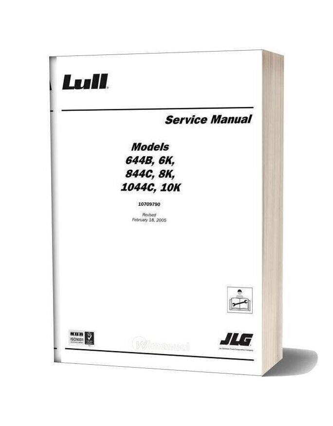 Jlg 6k 8k 10k Service Manual