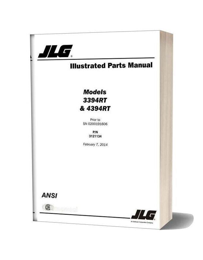 Jlg Illustrated Parts (3394rt & 4394rt)