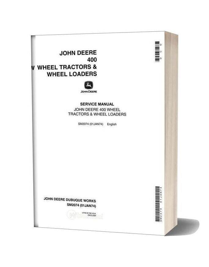 John Deere 400 Service Manual Sec Wat