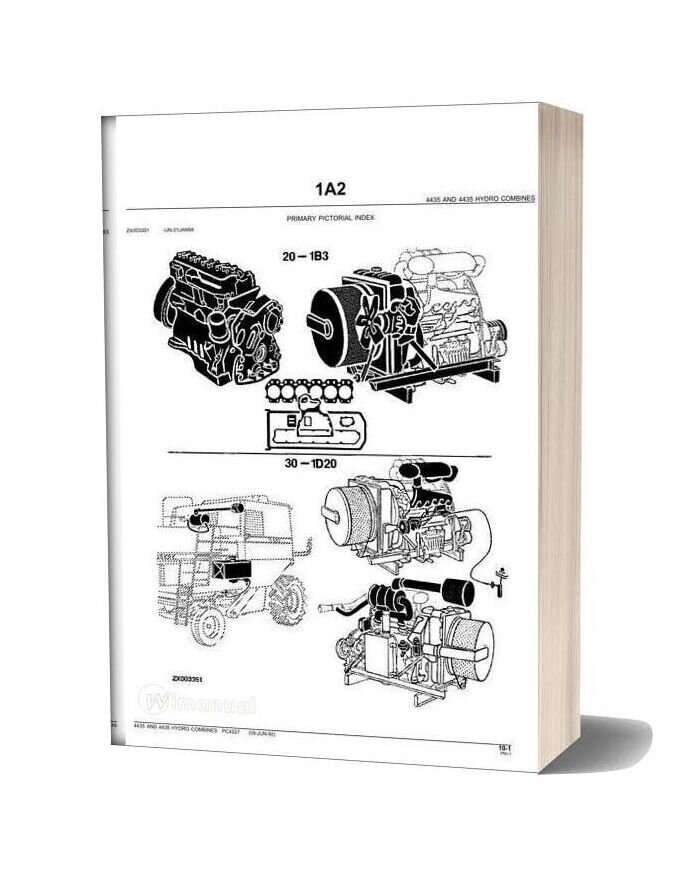 John Deere 4435 Parts Catalog