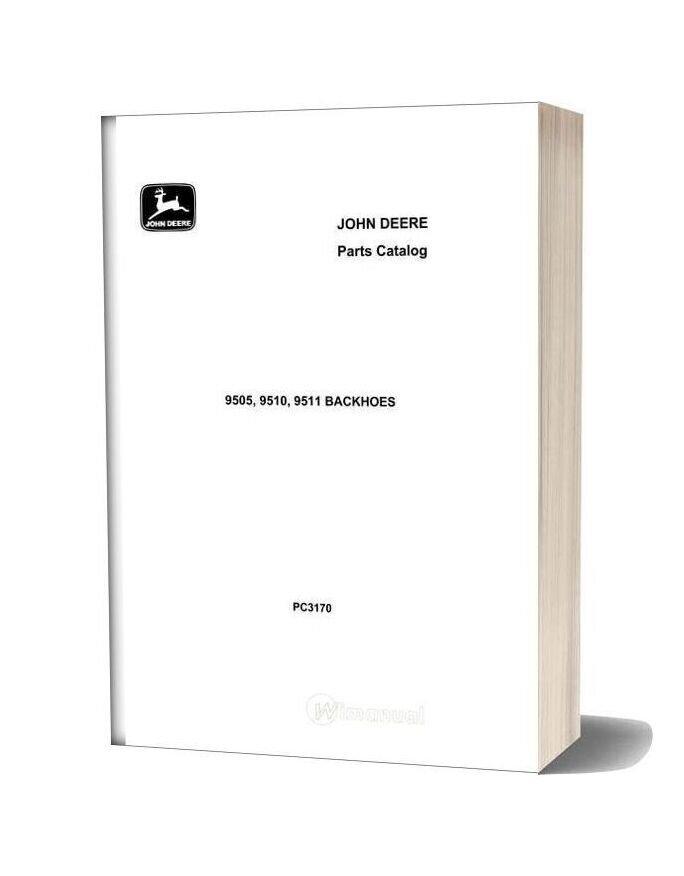 John Deere 9505 9510 9511 Parts Catalog