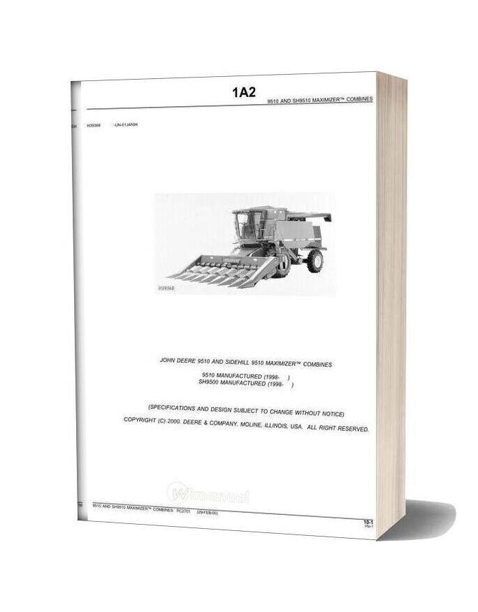 John Deere 9510 Parts Catalog