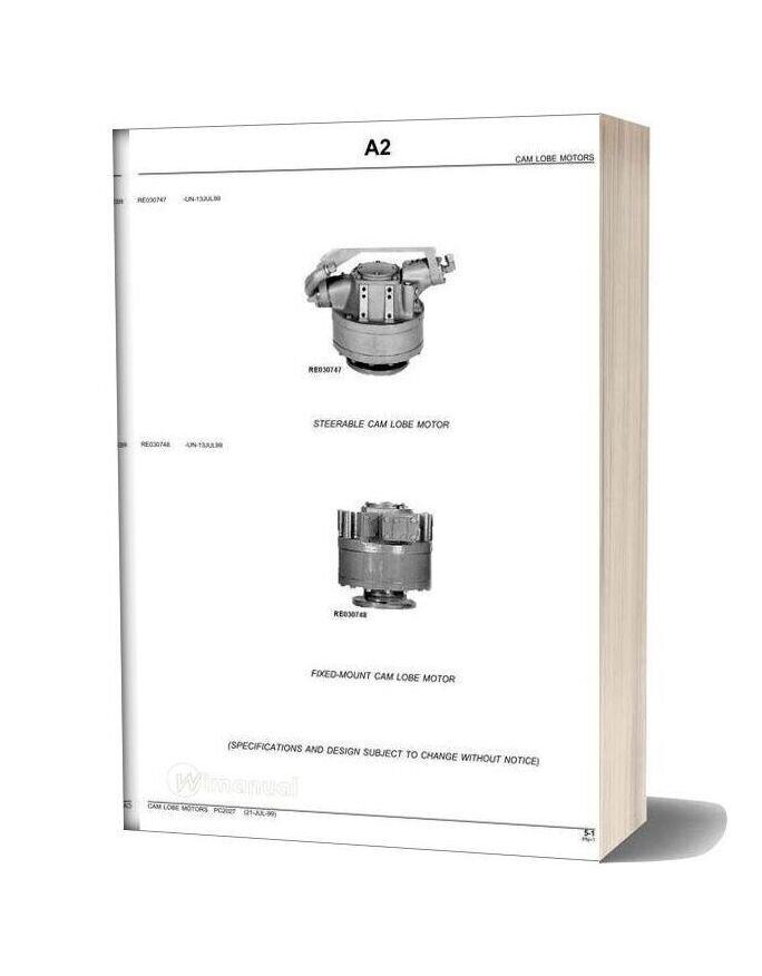 John Deere Cam Lobe Motors Parts Catalog