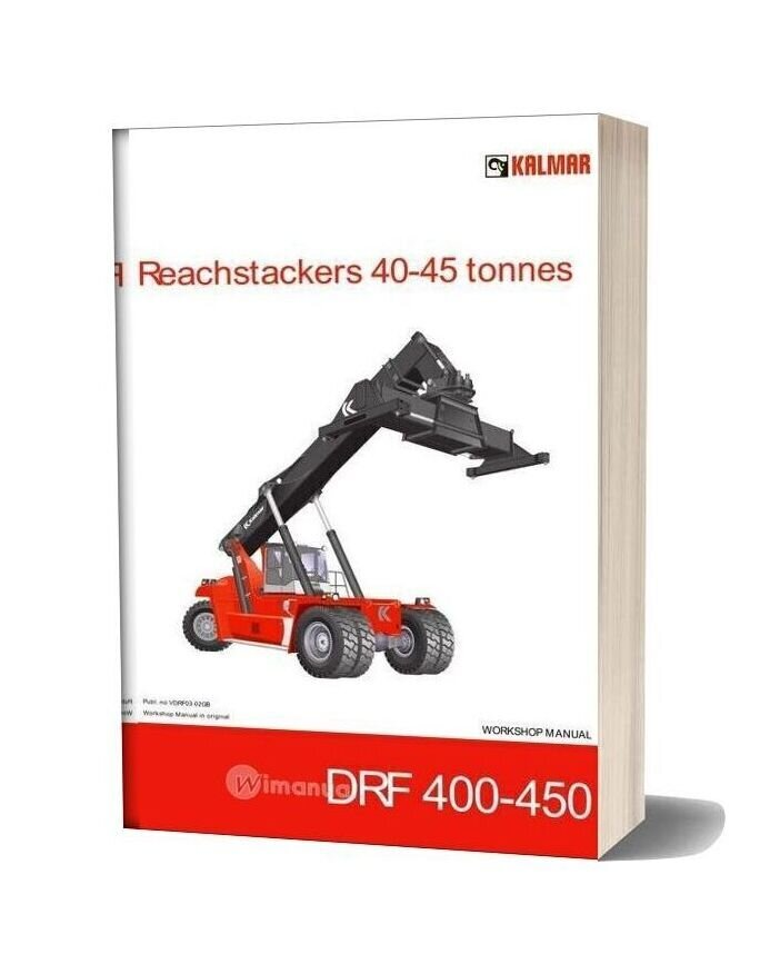 Kalmar Reachstrakers 40 45t Drf 400 450 Workshop Manual