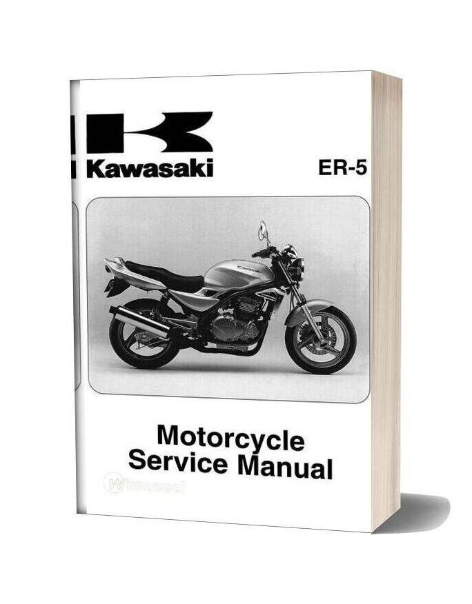 Kawasaki Er500 C5 2004 Service Manual