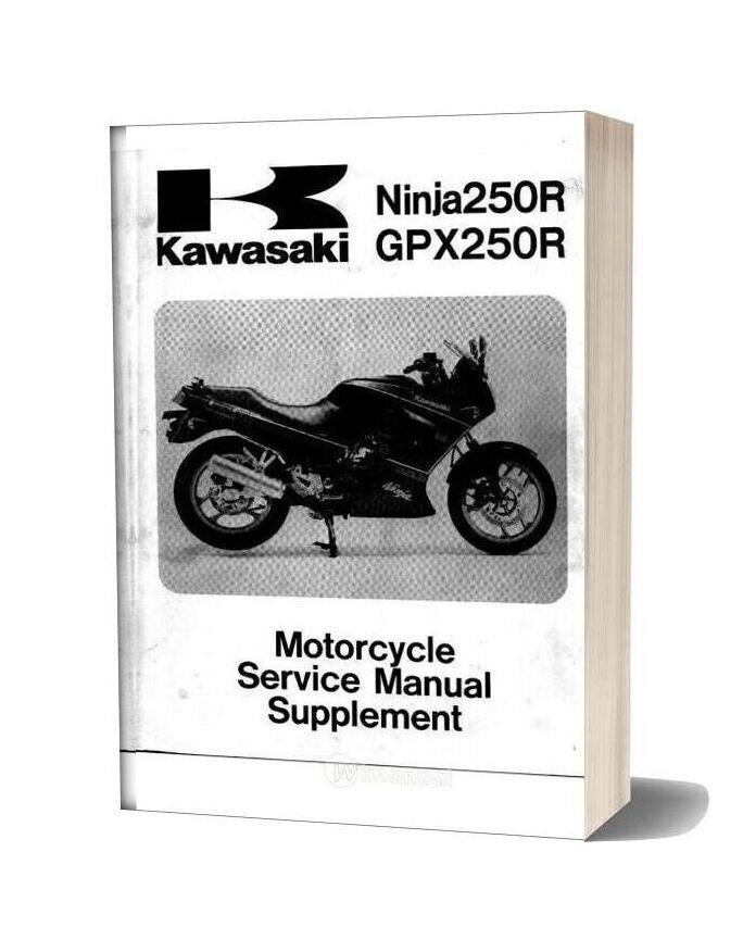 Kawasaki Gpx250r 87 Service Manual
