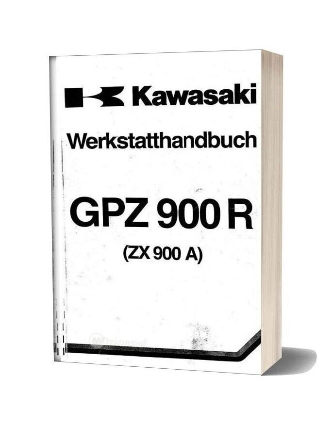 Kawasaki Gpz900r Factory German