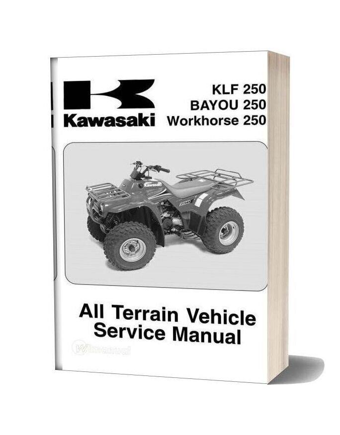 Kawasaki Klf250 2003 Service Manual