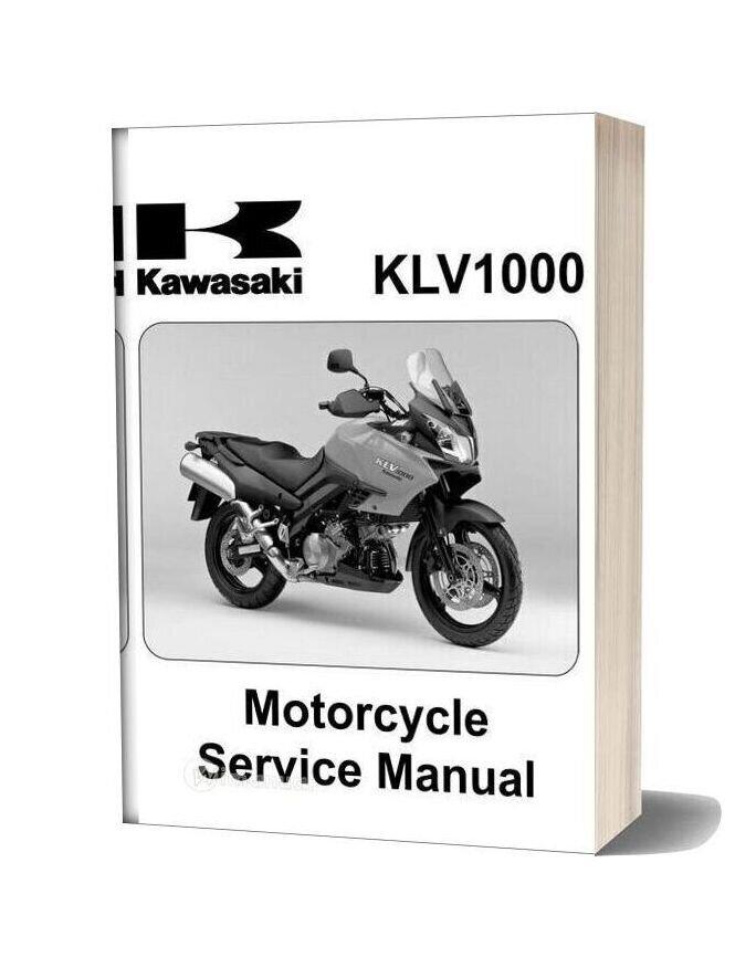 Kawasaki Klv1000 A1 2004 Service Manual